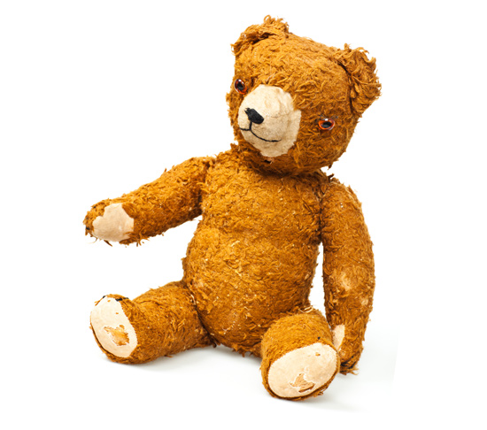 A cuddly bear passed down through generations
